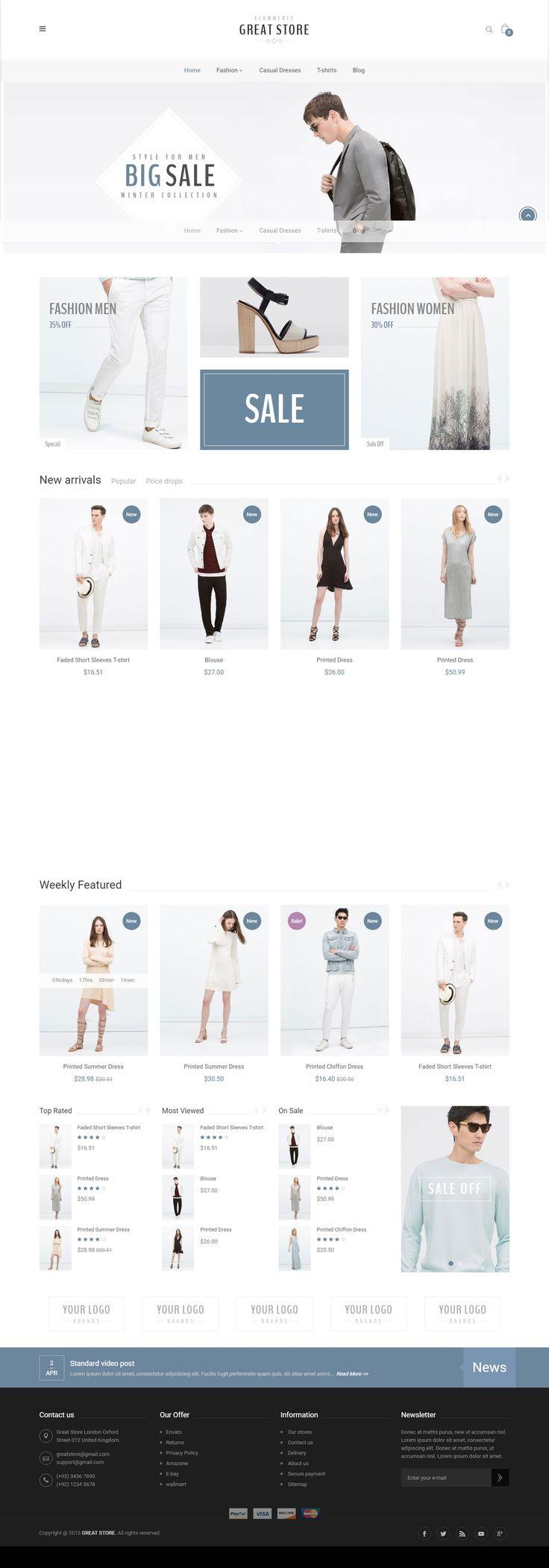 #YesThemes.net - Free download GREAT STORE - eCommerce Prestashop Theme -----------Free download this Prestashop theme: YesThemes.net------------- #Prestashop #theme, Prestashop #1.7, #free prestashop theme, prestashop theme #nulled, free #download, prestashop #design, prestashop #website, #beautiful prestashop theme