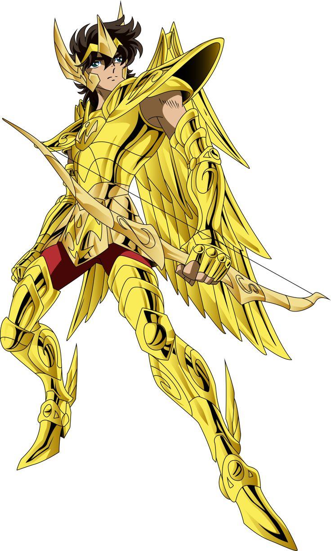 Aioros de Sagitario. Caballero Dorado. Saint Seiya (png).