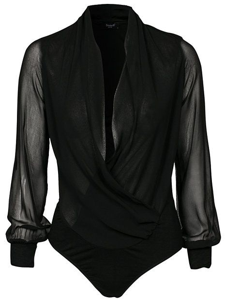 Nap Top - Sisters Point - Zwart - Tops - Kleding - Vrouw - Nelly.com