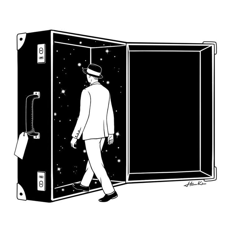 우주여행자 - 일러스트레이션 · 파인아트, 일러스트레이션, 파인아트, 일러스트레이션, 파인아트