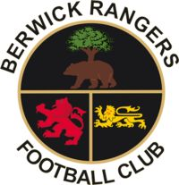 1881, Berwick Rangers F.C. (Scotland) #BerwickRangersFC #Scotland (L17647)