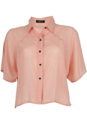Sheer Raglan Shirt by Milcah