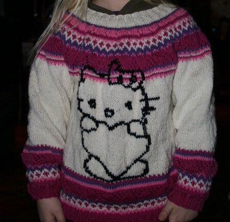 Hello Kitty genser