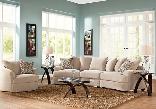 Cooper Hill 6 Pc Living Room - Living Room Sets | Counseling office ideas | Pinterest | Living ...