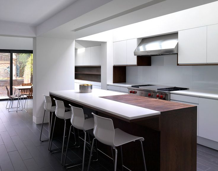 Kitchen Side Extension by Threefold Architects