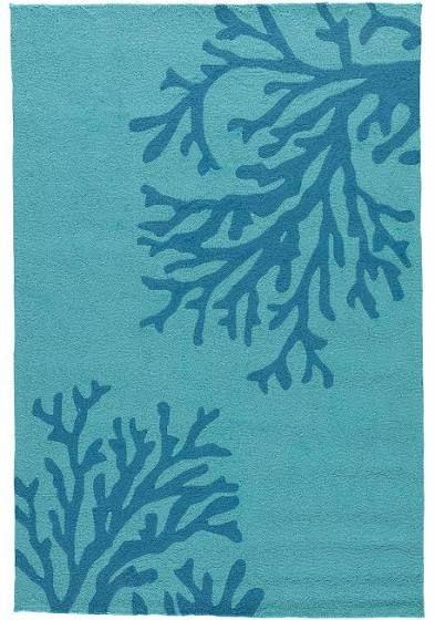 Sea coral rug Coral rug Area rugs Blue area rugs