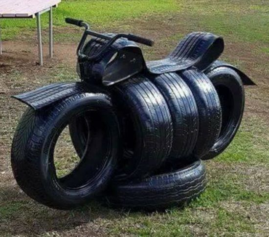 Tire Art Ideas Lots of Garden Inspiration