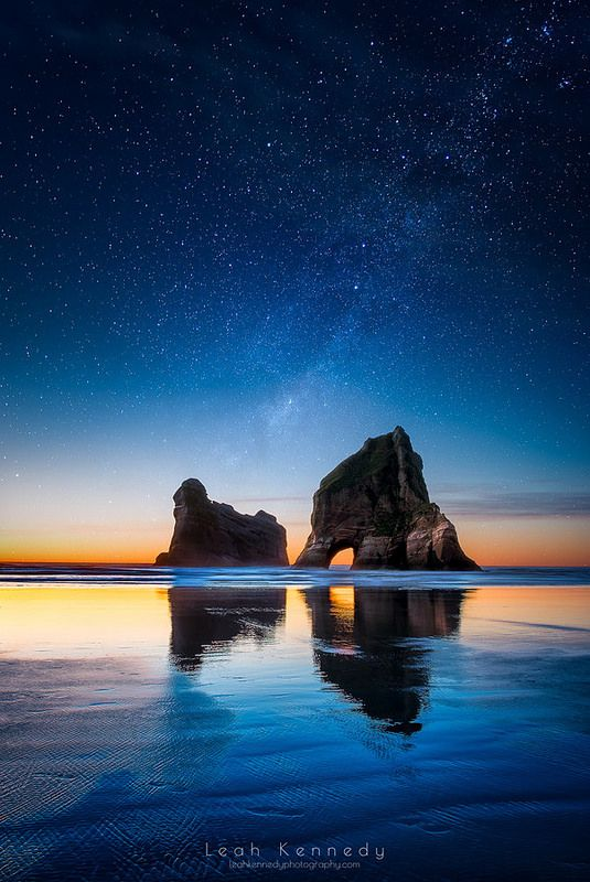 The Sky - Wharariki Beach, New Zealand