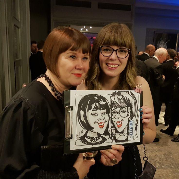 Award caricatures