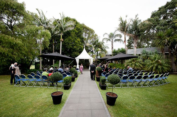 Auckland Wedding Venue Sorrento in the Park.  You dont have to go far for this venue - a stroll in the park.