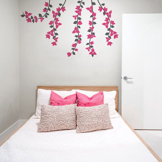 Best 25+ Flower wall decals ideas on Pinterest | Vintage ...