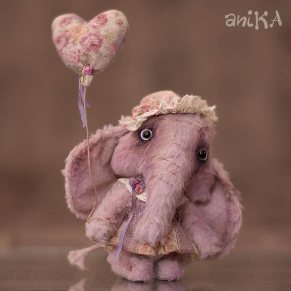 мишаники от аники: Слонята с выставки. MF 2012.