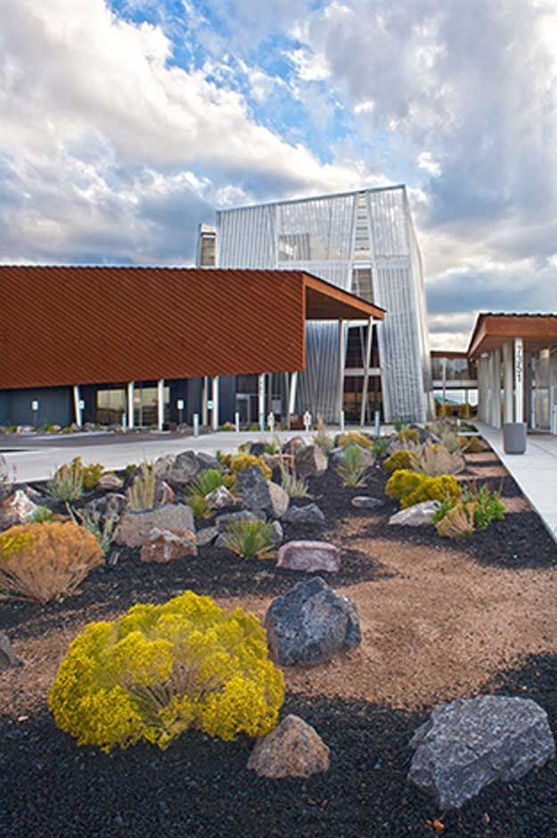 Prescott valley library yavapai college richard bauer for Prescott architects
