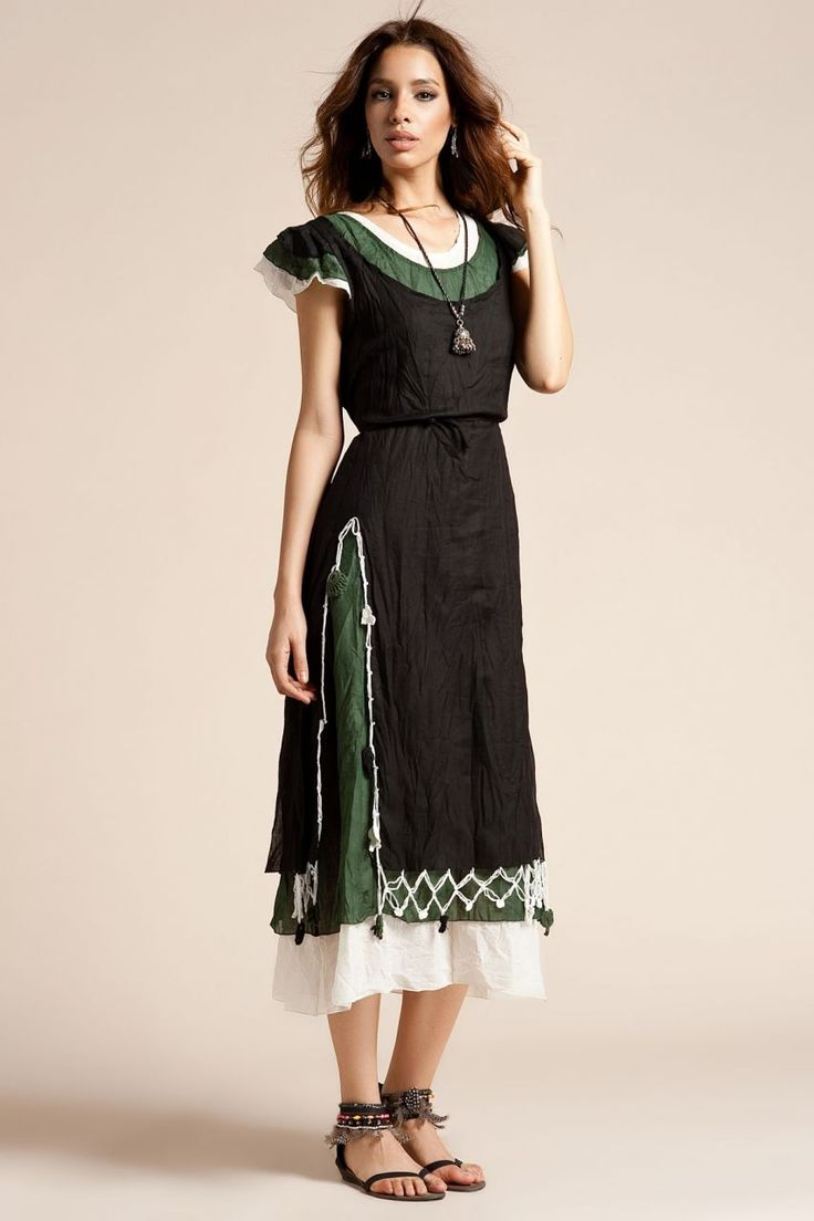Modelleri ve elbise fiyatlar modasor com pictures to pin on pinterest - Otantik Kekova Elbise Siyah