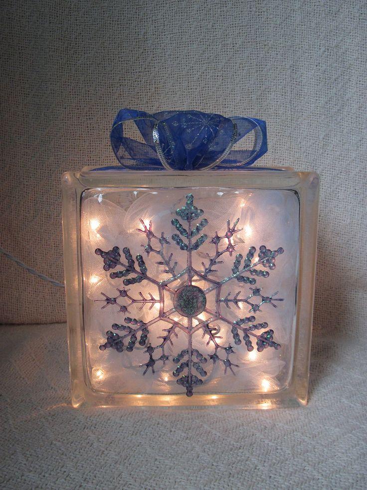 Decorative Glass Blocks With Lights