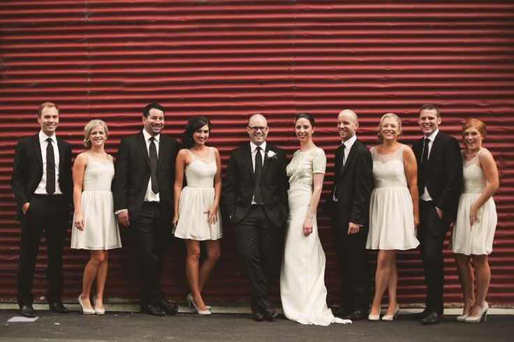 A Destination Black Tie Wedding At Gear Homestead In New Zealand With A Neutral Colour Scheme and A White Rose Bouquet By Tim Williams Photography.
