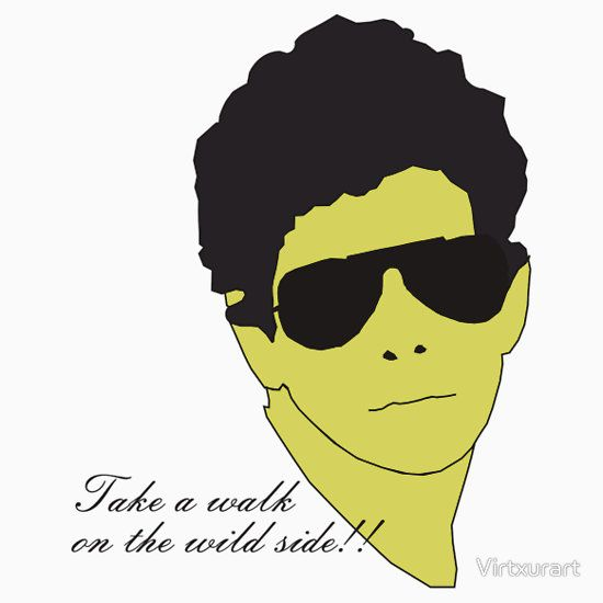 Lou reed sticker by virtxurart