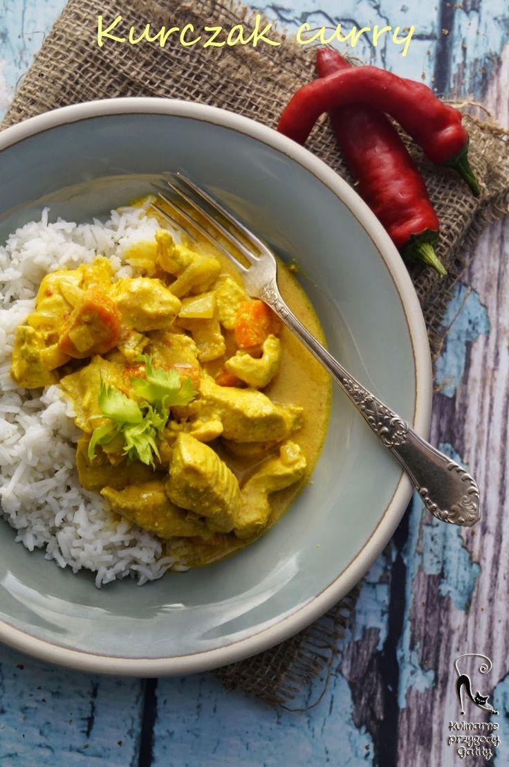 Kulinarne przygody Gatity: Curry z kurczakiem