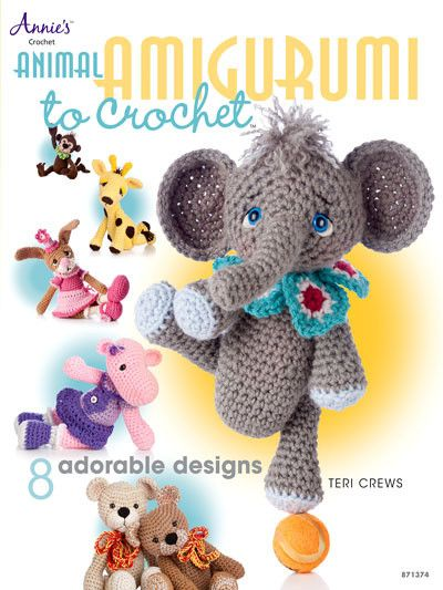 Look what's on sale at: Maggie's Crochet · Animal Amigurumi to Crochet
