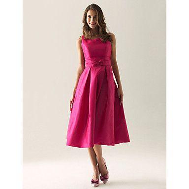 PERLA - Kleid für Hochzeitsfeier und Brautjungfer aus Tafft - EUR € 63.63
