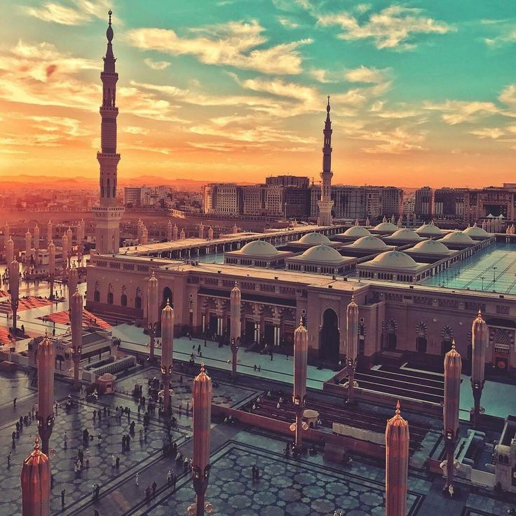 Pin by Z.F on Al Haram in 2020 Mosque, Medina mosque