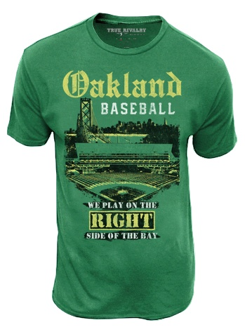 Oakland Baseball: This shirt is a must have for any #A's fan! Cheer on your team in style! #MLB