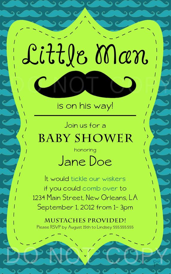 little man mustache baby shower by pourvouscrafts on etsy