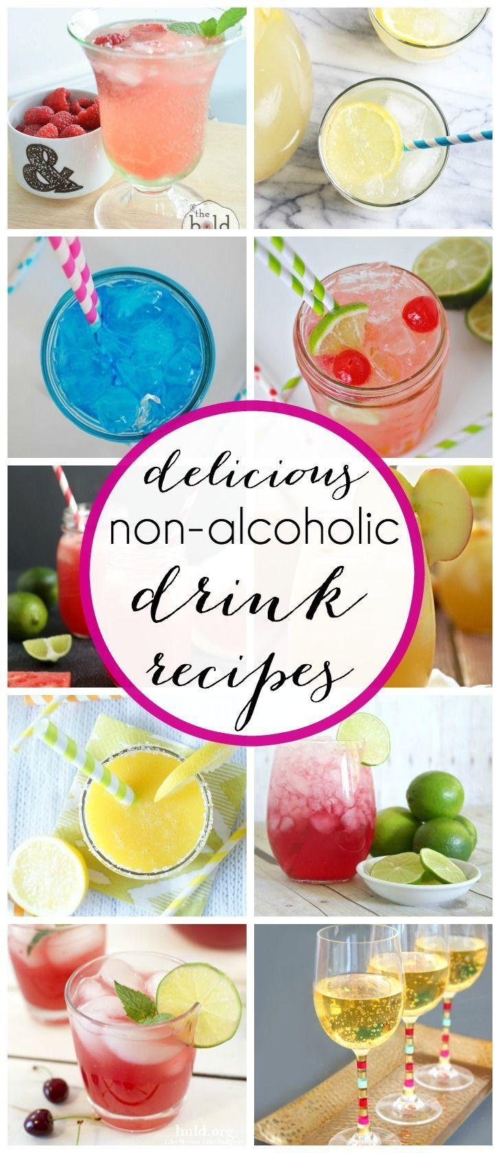 Non alcoholic drink recipes non alcoholic alcoholic for Non alcoholic beverages recipes