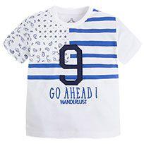 Camiseta de manga corta con serigrafía