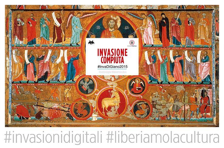 Invasione compiuta #InvaDiGiano2015 #invasionidigitali