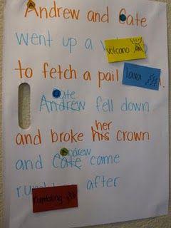 rewrite nursery rhymes