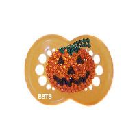 Pumpkin Bling Pacifier