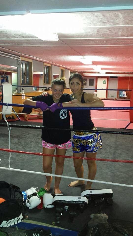Moi & Soumeya Sammoudi Fighter boxe thai championne