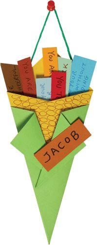 Thanksgiving Place Card Kids Craft