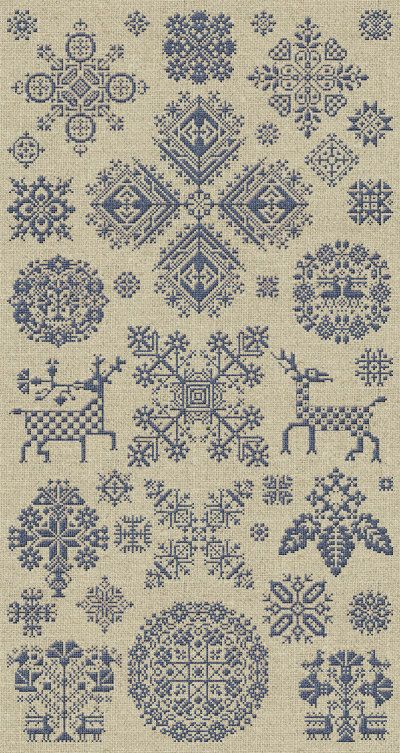 Through The Bitter Frost & Snow - 37 Christmas Ornaments - Instant Download PDF Booklet
