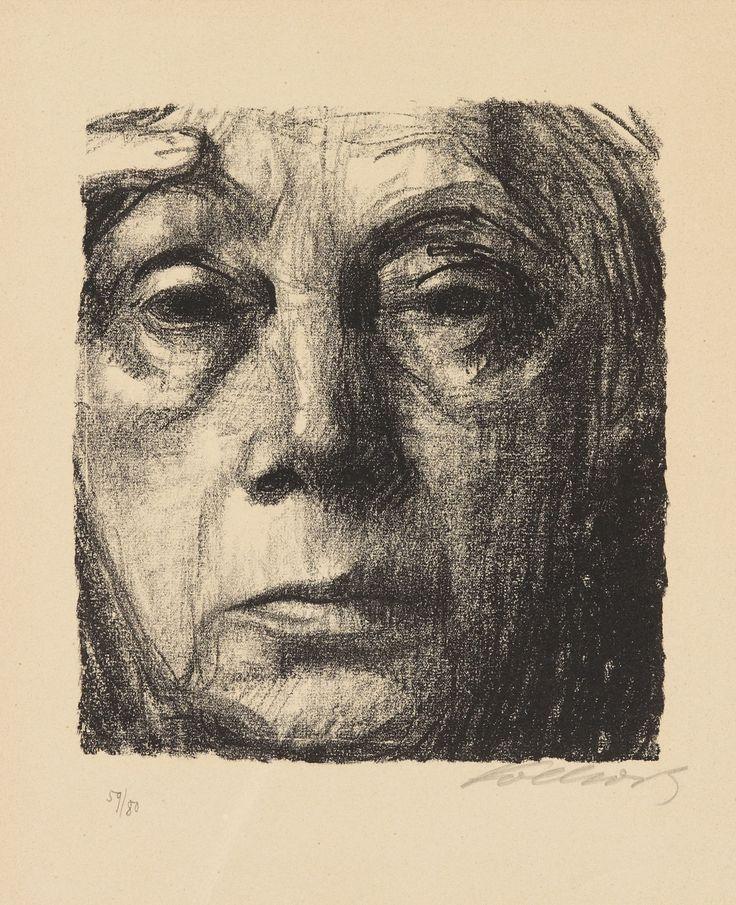 Käthe Kollwitz, Selbstportrait