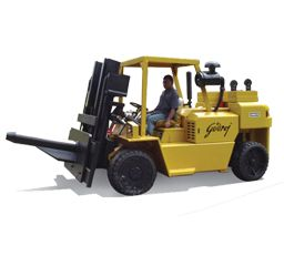 Container Stuffing Heavy Diesel Forklifts