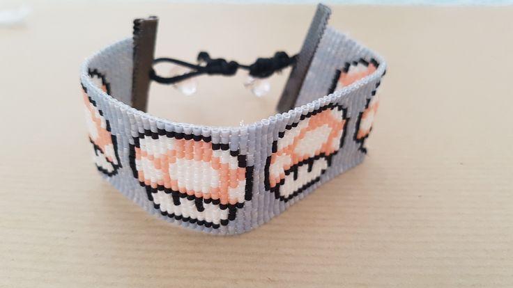 Toad bracelet - mushroom Super Mario
