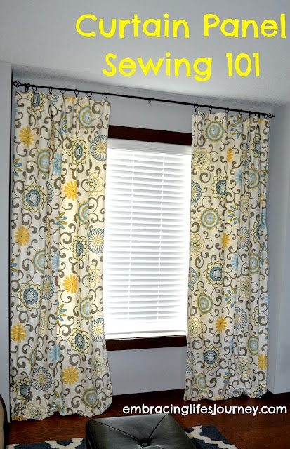 Clear And Easy Directions On How To Make Custom Curtain Panels For A Fraction Of The