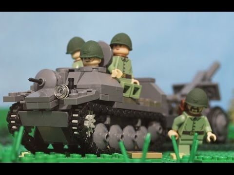 1941 Lego World War Two Battle of Brody - YouTube