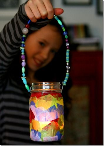 Collecting the Moments - Mason Jar Lanterns