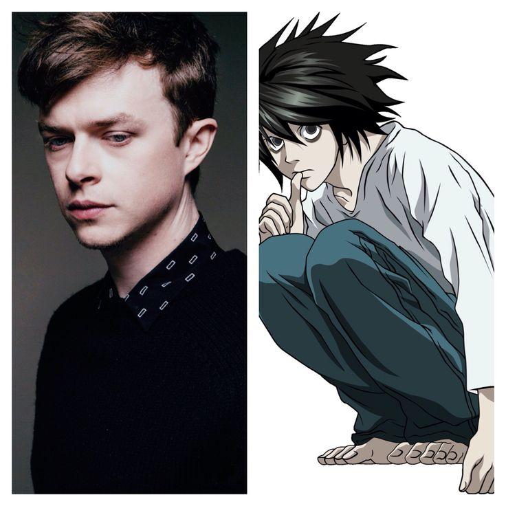 Pin On Death Note Fan Cast