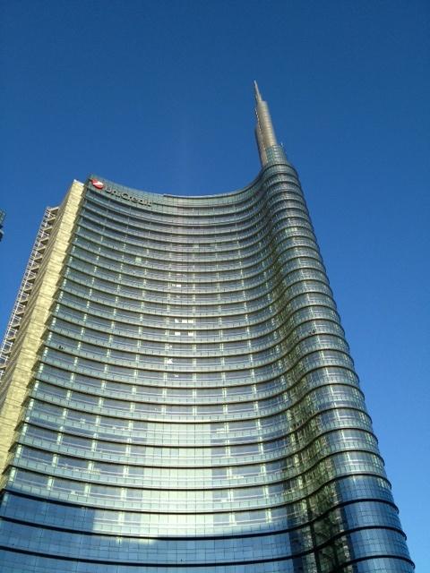 Grattacielo, Milan, milano, skyline, Unicredit, madonnina