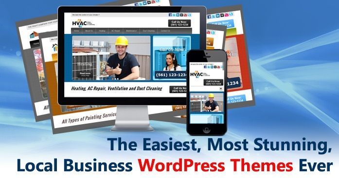 Premium WordPress Themes with Single Click Installation, Just a Click and your website is ready for use. Your Site is faster to build, easy to use & Search Engine Optimized. http://www.localthemejack.com/themes/