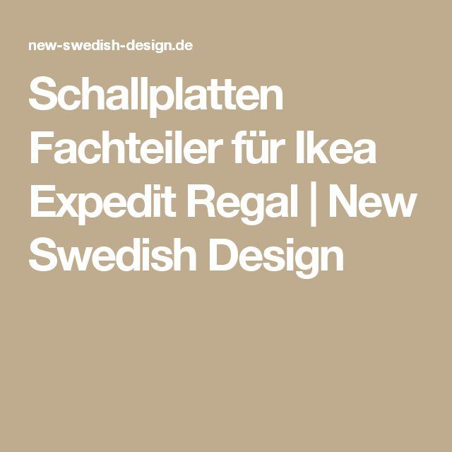 Schallplatten Fachteiler für Ikea Expedit Regal | New Swedish Design
