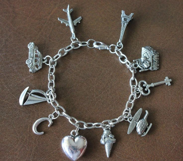 Ana S Charm Bracelet Inspired By Fifty Shades Of Grey
