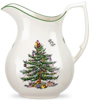 RP: Spode Christmas Tree Pitcher