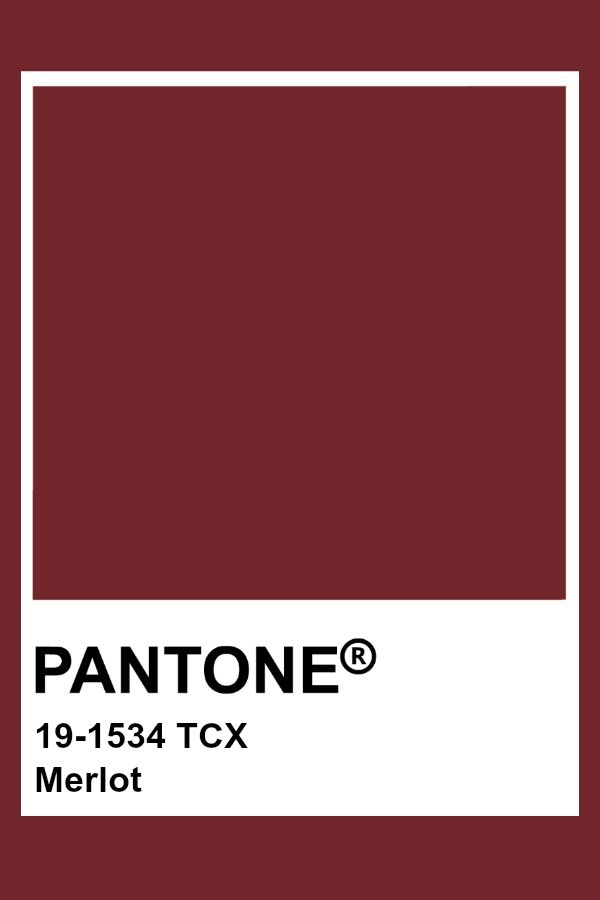 Pantone Merlot Quick Saves In 2019 Color Pantone Colours