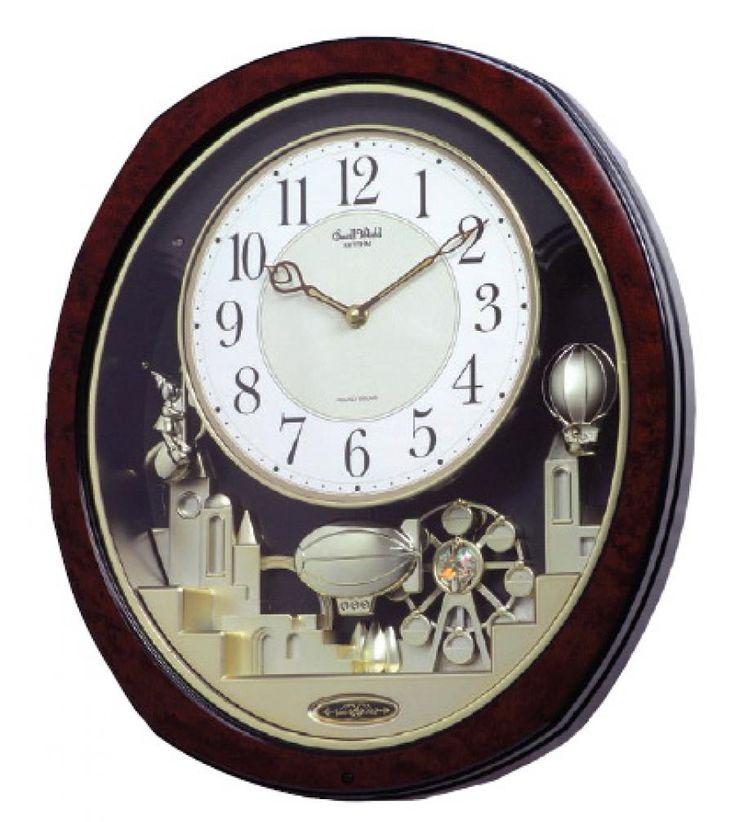 clockway rhythm musical wall clock quartz gtm2222 on wall clocks id=56200