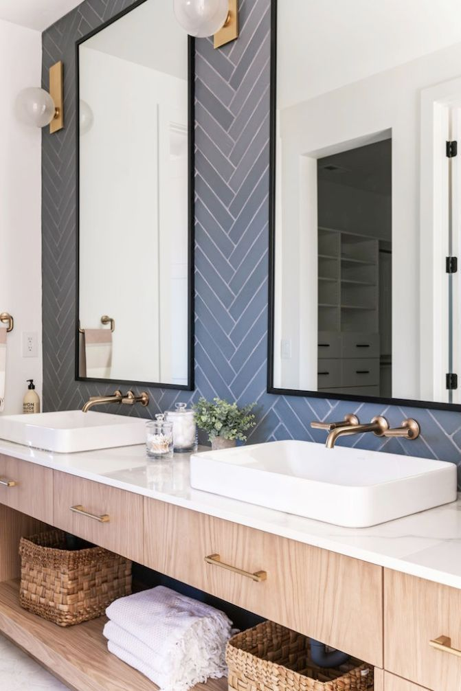 The Bathroom Faucet Hardware Combinations We Are Currently Usingbecki Owens In 2020 Bathroom Faucets Design A Space Faucet Hardware
